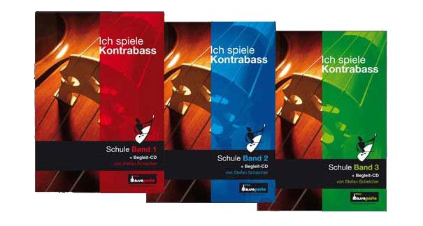 Kontrabass-lernen-in-drei-Bänden